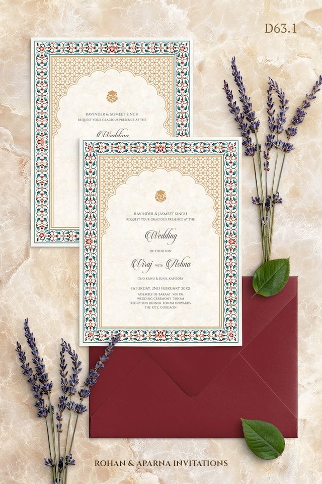 Wedding Invitation Card 07